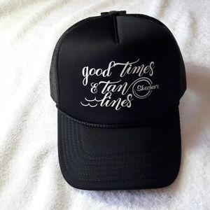 SKECHERS GOOD TIMES & TAN TIMES HAT